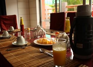 café da manhã em inglês