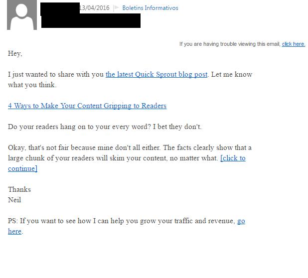 escrever e-mail em inglês