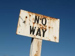 significado de no way