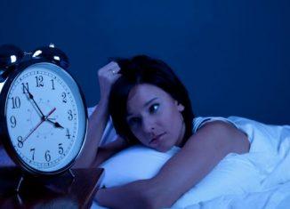 dormir mal em inglês