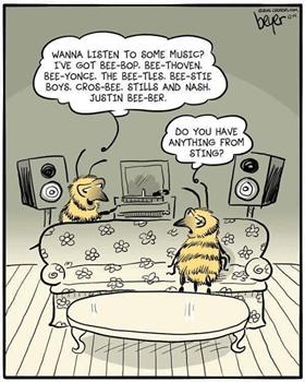 Cartoon com atividade